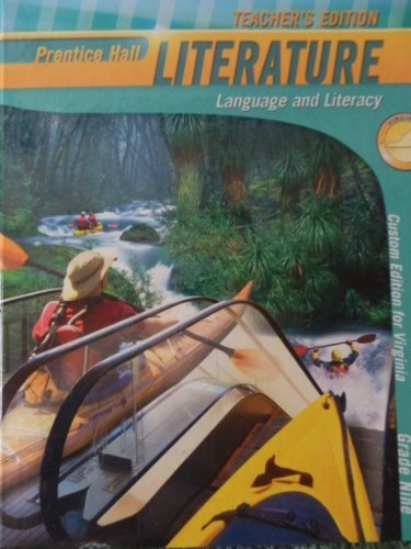 9781256117360: Prentice Hall Literature Virginia Edition Grade Nine 9 (Language and Literacy)