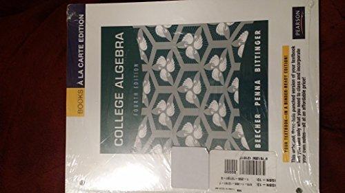 9781256121817: College Algebra 4th edition
