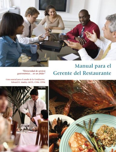 9781256122425: The Restaurant Manager's Guide, Spanish Edition