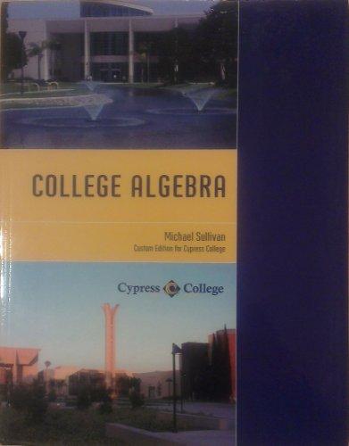 9781256126867: COLLEGE ALGEBRA >CUSTOM<