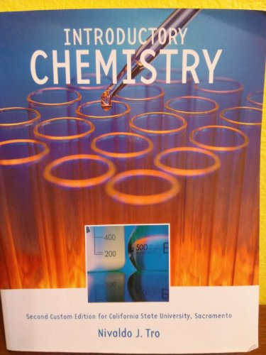 9781256134206: Introductory Chemistry (second custom edition for CSU, Sacramento)