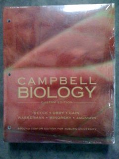 9781256140184: Campbell Biology - 2nd Custom Edition for Auburn University by Reece (2011-05-04)
