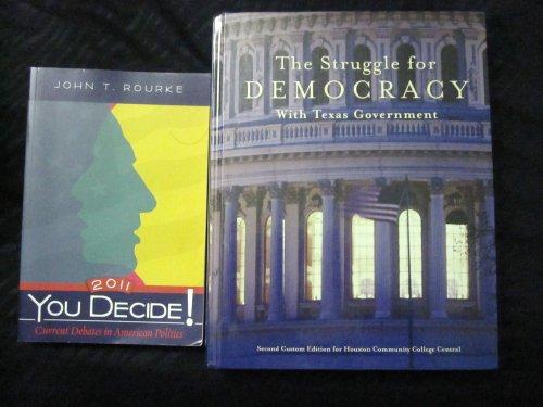 9781256141990: The Struggle for Democracy