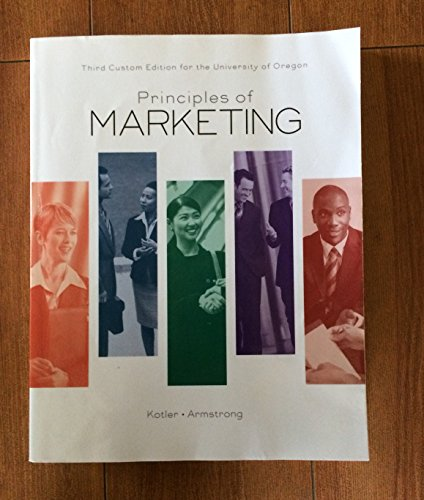 Principles of Marketing: Philip Kotler and Gary Armstrong