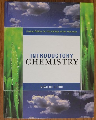 9781256145110: Introductory Chemistry, Custom Edition for City College of San Francisco