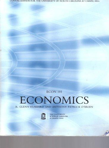 9781256147954: Economics Custom Edition (for UNC Econ 101)