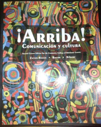 9781256152149: Arriba! Comunicacion Y Cultura, 2nd Edition (Community College of Baltimore County)