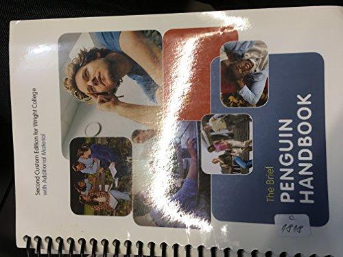 9781256152309: Brief Penguin Handbook (Custom)(wright College)