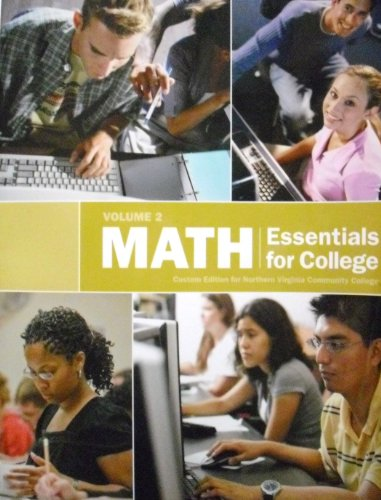 9781256153740: Math Essentials for College (Math Essentials for College: Custom Edition for Northern Virginia community College)