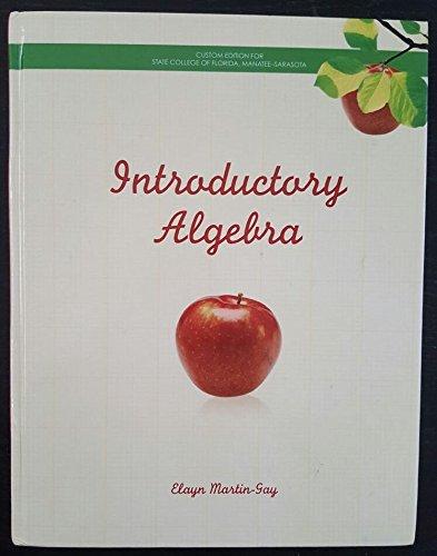 Introductory Algebra Custom Edition for State College: Elayn Martin-Gay