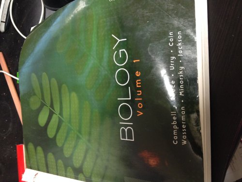9781256156338: Biology Volume 1