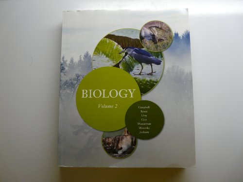 9781256156352: Biology Volume 2 From Campbell Biology 9th Edition (Biology Volume 2)