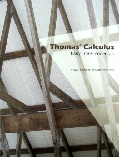9781256157175: Thomas Calculus Early Transcendentals