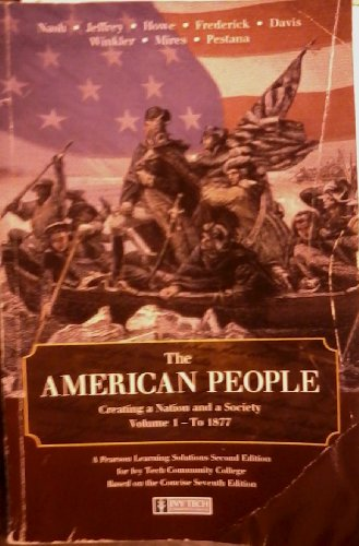 The American People: Creating a Nation and: Author
