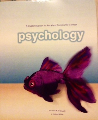 9781256167280: Psychology (And custom Edition for Rockland Community College)