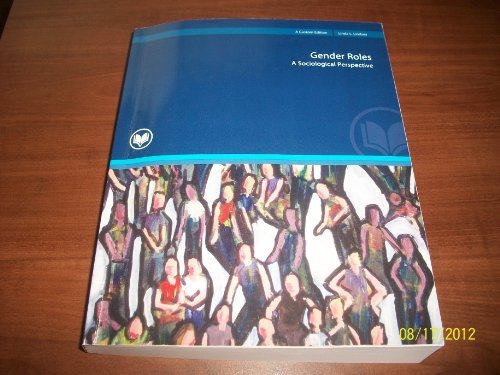 9781256168355: Gender Roles A Sociological Perspective (A Custom Edition)
