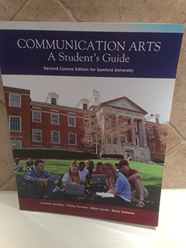 9781256169970: Communication Arts: A Student's Guide