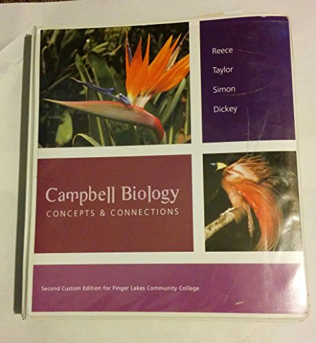 9781256170341: Campbell Biology CONCEPTS & CONNECTIONS (2nd Custom Edition for Flcc)