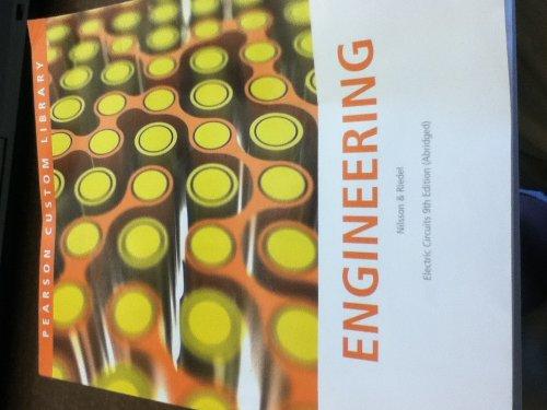9781256175599: Engineering Electric Circuits (Abridged)