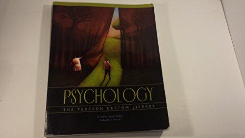Psychology The Pearson Custom Library: J G Farias