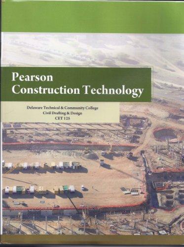 9781256181576: Pearson Construction Technology Delaware Tech & Comm College