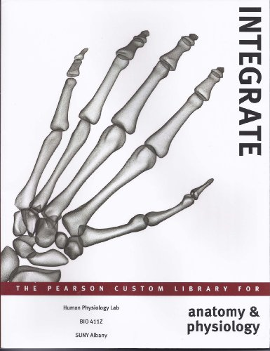 9781256183389: Integrate: The Pearson Custom Library for Anatomy & Physiology