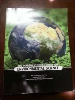 9781256199403: The Pearson Custom Library for Environmental Science, Intro to Environmental Studies (ENVI-101) Raritan Valley Community College