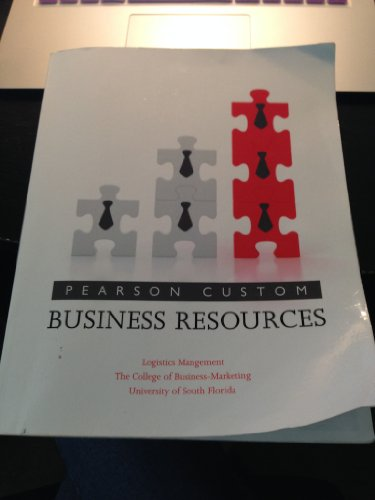 9781256206804: Pearson Custom Business Resources (Logistics Management)
