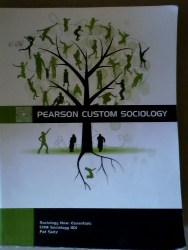 Pearson Custom Sociology (SOCIOLOGYNOW ESSENTIALS)