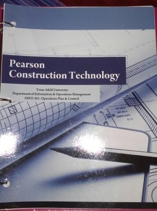 9781256209461: Texas A&M University, Department of Information & Operations Management, INFO 361: Operations Plan & Control