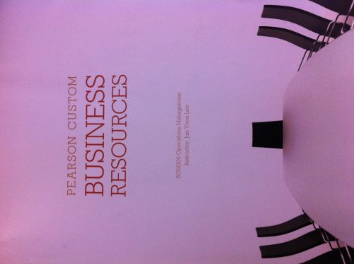 9781256217619: Business Resources (Pearson Custom)