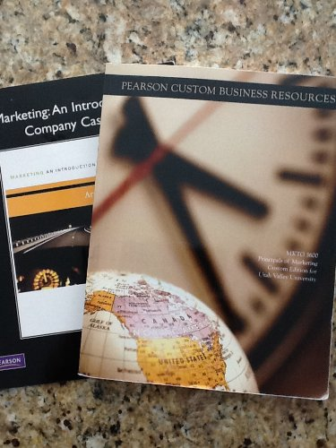 9781256217626: Marketing An Introduction (UVU Custom Edition for MKTG 3600)