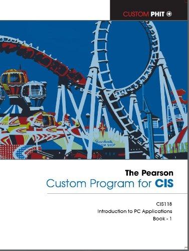 9781256225881: The Pearson- Custom Program for Cis(book 1) (Programs for CIS)