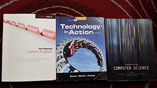9781256230427: Pearson Custom Computer Science: Intermediate PC Applications with Programming (Pearson Custom)