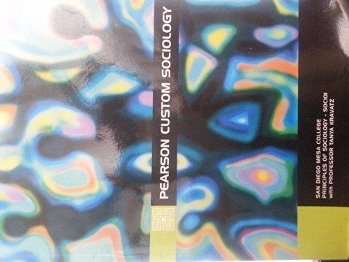 9781256237020: Pearson Custom Sociology