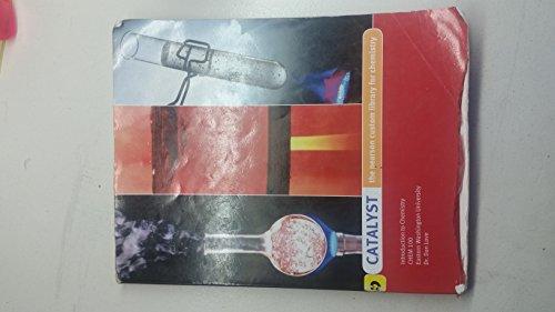 9781256238843: Catalyst Introduction to Chemistry Chem 100 Easter Washington University