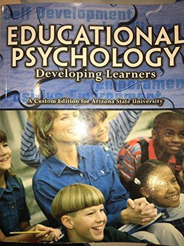 9781256241768: pearson custom education- educational psychology/developing learners/arizona stat university custom edition (pearson custom education)