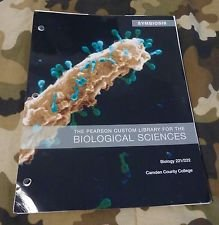 9781256245667: The Pearson Custom Library for the Biological Sciences