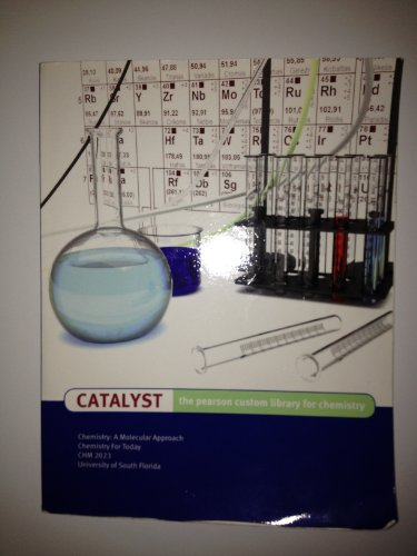 9781256250500: CATALYST the pearson custom library for chemistry University of South Florida