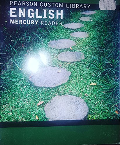 Pearson Custom Library English Mercury Reader