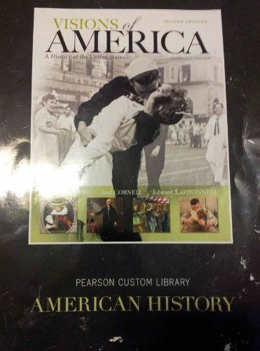 9781256262602: Visions of America (a History of the United States 2nd Edition Combined Volume)