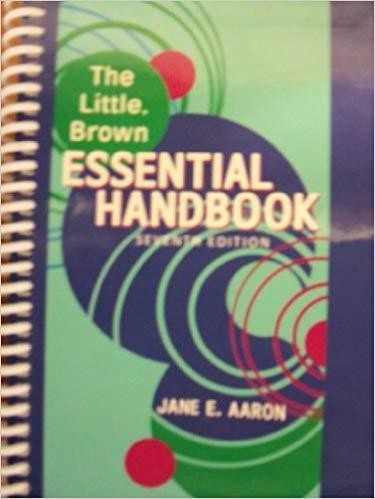 9781256263821: The Little, Brown Essential Handbook, 7th Edition