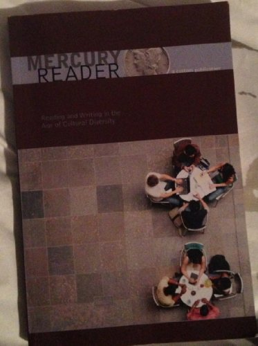 9781256263838: Mercury Reader - WMU ENGL 1050 Edition. (Reading and Writing in the Age of Cultural Diversity)