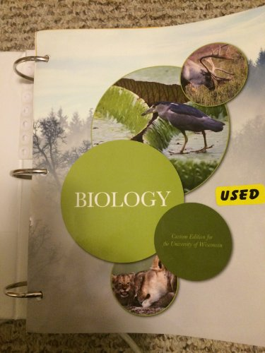 9781256272373: Biology Customer Edition for the University of Wisconsin