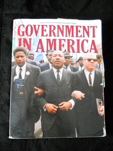 9781256272656: Government in America Custom Edition for Portland Community College