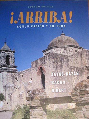9781256274384: Arriba Comunicacion Y Cultura (Custom Edition for Wright College)