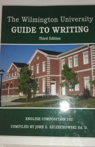 9781256277156: Wilmington University Guide to Writing