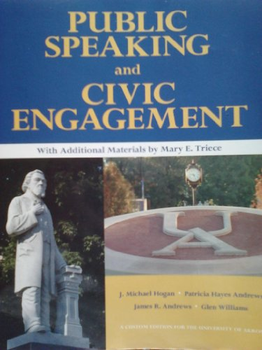 9781256277620: Public Speaking and Civic Engagement