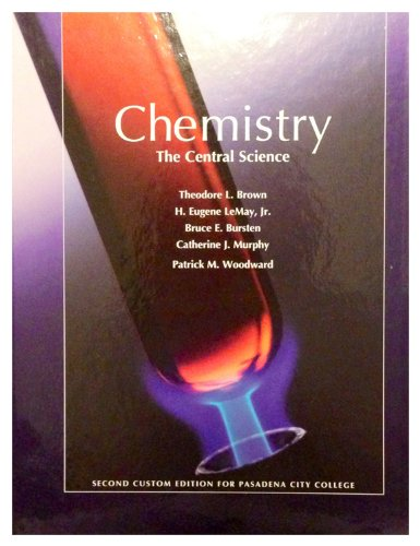 9781256278801: Chemistry The Central Science Second Custom Edition