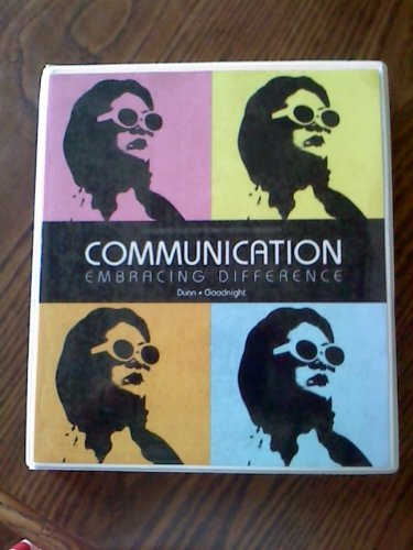 9781256281610: Communication (Embracing Difference) (Communication (Embracing Difference))
